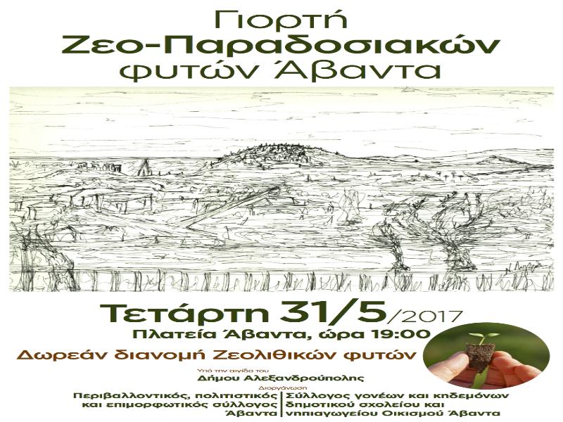 Γιορτή Ζεο-παραδοσιακών φυτών στον Άβαντα Αλεξανδρούπολης 5c65821a3a8